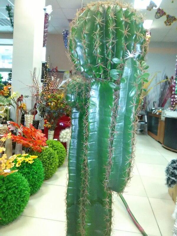 Кактус высокий искусственное растение купить в Барнауле