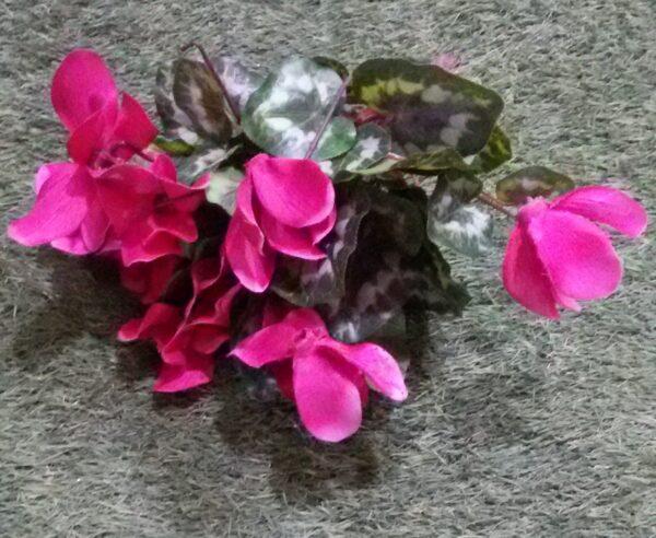 Цикломен куст искусственное растение купить в Барнауле